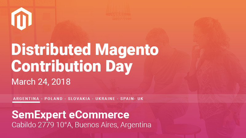 Distributed Magento Contribution Day el 24 de marzo